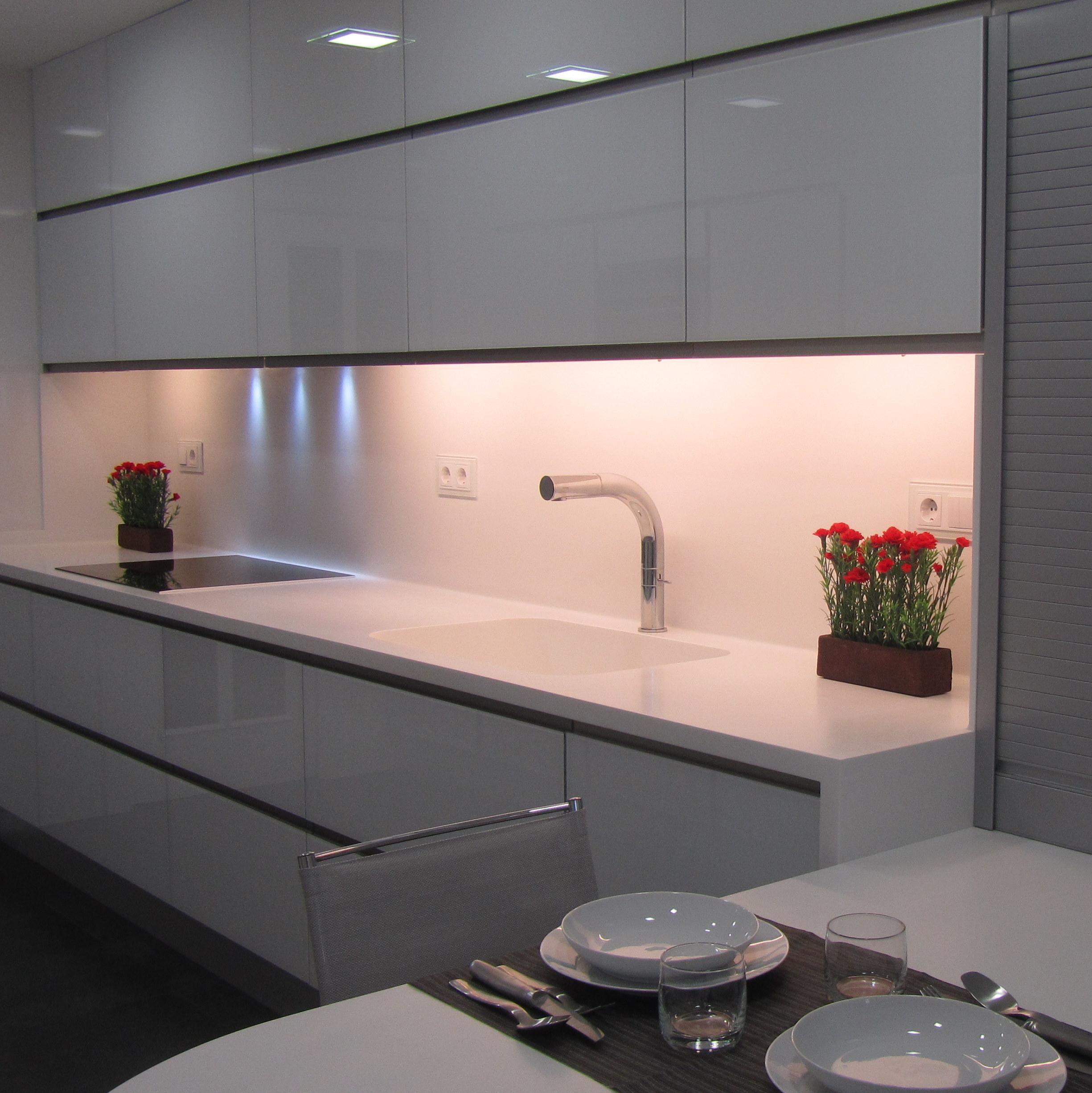 Genial Encimeras De Cristal Para Cocinas Fotos Mostrador Y  ~ Encimeras De Cristal Para Cocinas